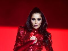 Cheryl on stage during day two of Capital's Jingle Bell Ball with Coca-Cola at London's O2 Arena. (Ian West/PA)
