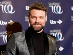 Brian McFadden has injured himself on the ice (David Parry/PA)
