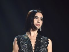 Dua Lipa celebrated her four Brit Award nods (Matt Crossick/PA)
