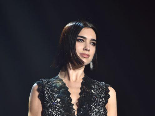 Dua Lipa celebrated her four Brit Award nods (Matt Crossick/PA)