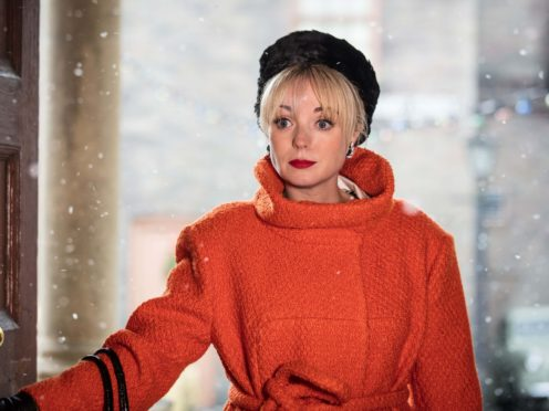 Helen George as Trixie Franklin in the Call The Midwife Christmas special (PA)
