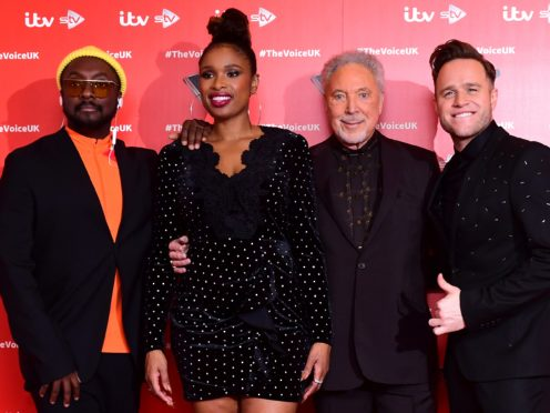 The Voice narrowly triumphed over The Greatest Dancer in Saturday night's ratings battle (Ian West/PA)