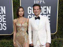 Irina Shayk, left, and Bradley Cooper (Jordan Strauss/Invision/AP)