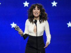 Sandra Oh paid tribute to her Killing Eve co-star Jodie Comer (Chris Pizzello/Invision/AP)