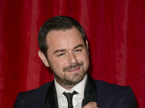 Danny Dyer at the NTAs (Ian West/PA)