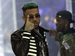 Singer Chris Brown (Luca Bruno/AP)