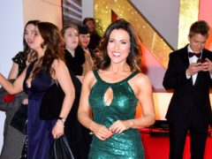Susanna Reid attending the National Television Awards (Ian West/PA)