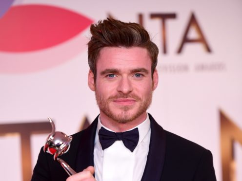 Richard Madden earned two gongs at the National Television Awards (Ian West/PA)