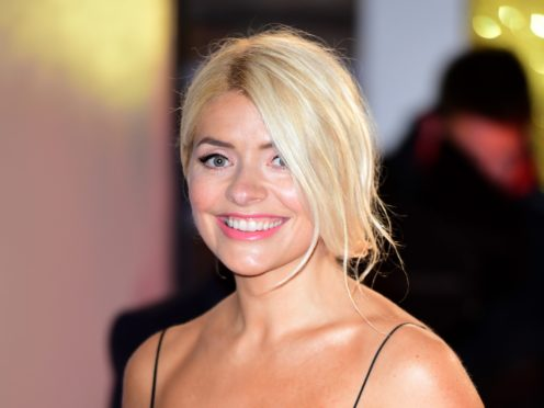 Holly Willoughby blamed fans for her impending hangover (Ian West/PA)