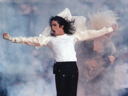 A documentary alleging Michael Jackson was a paedophile attarcted protesters to its premiere (AP Photo/Rusty Kennedy, file)