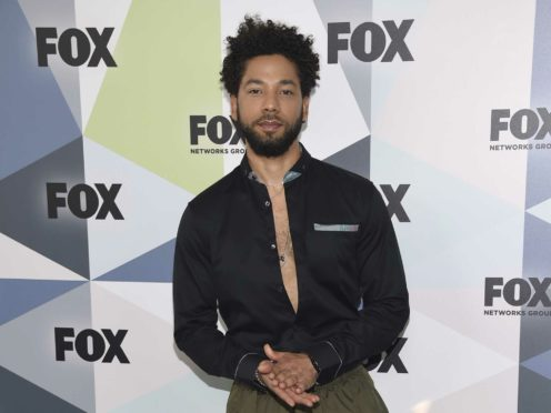 Police investigating an alleged homophobic and racist attack on Empire actor Jussie Smollett have released CCTV images showing 'people of interest' (Evan Agostini/Invision/AP, File)