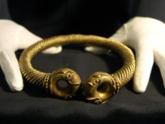 An Iron Age torc at the British Museum (Clive Gee/PA)