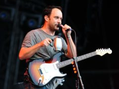 Dave Matthews of the Dave Matthews Band on stage at Hard Rock Calling, in Hyde Park in London (Ian West/PA)