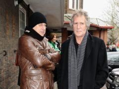 John Illsey with Mark Knopfler (Ian West/PA)