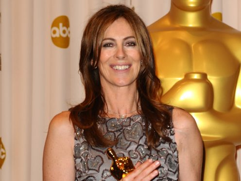 Kathryn Bigelow with her Oscar for best director in 2010 (Ian West/PA)