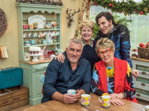 Great British Bake Off returns for the New Year (Channel 4)