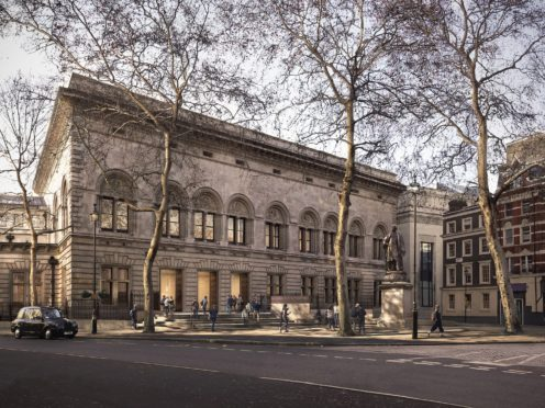 National Portrait Gallery forecourt proposal (Jamie Fobert Architects/Forbes Massie)