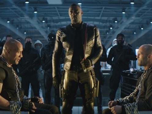 A scene from Fast & Furious: Hobbs & Shaw (Universal)