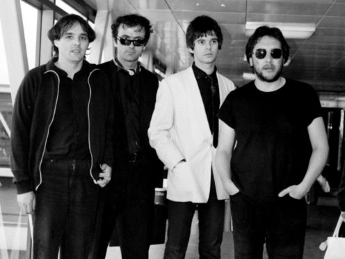 The Stranglers earlier in their career. 9PA)