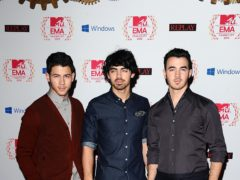 The Jonas Brothers a year before their split in 2013 (Ian West/PA)