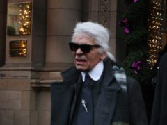 Tributes have continued to flood in for the late fashion designer Karl Lagerfeld (David Cheskin/PA)
