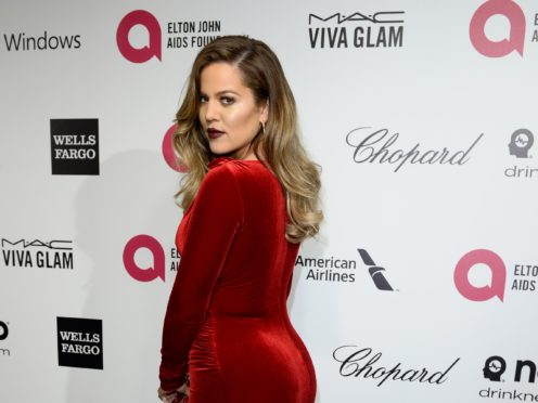 Khloe Kardashian gave birth to daughter True in April 2018 (PA)