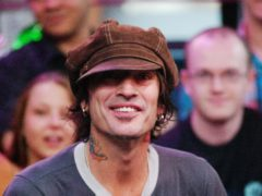 Motley Crue drummer Tommy Lee has married Brittany Furlan (Anthony Harvey/PA)