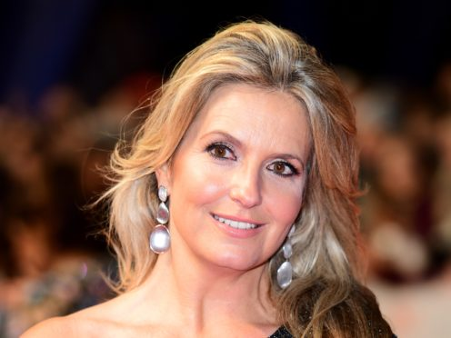 Penny Lancaster is tempted by a move into policing (Ian West/PA)