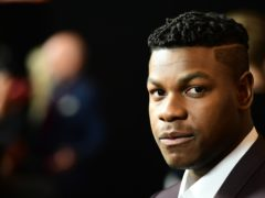 John Boyega has announced the end of filming (Ian West/PA)