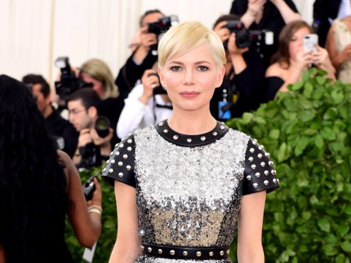 Michelle Williams reportedly received less than 1,000 dollars to re-film portions of All The Money In The World (Ian West/PA)