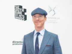 Benedict Cumberbatch is up for an award (Dominic Lipinski/PA)
