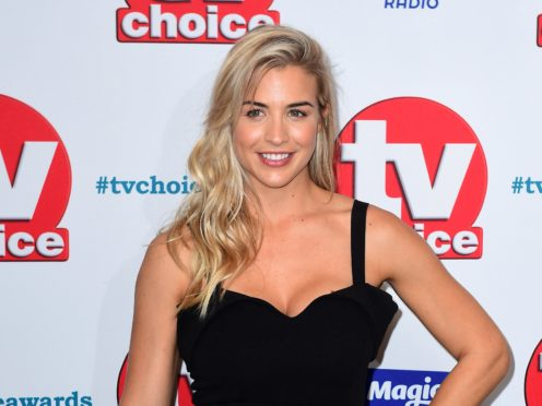Gemma Atkinson has announced her pregnancy with Gorka Marquez (Ian West/PA)