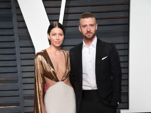 Jessica Biel wished husband Justin Timberlake a happy birthday with a sweet post on Instagram (PA)