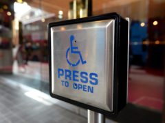 Representation of disability in the arts remains low (Andrew Matthews/PA)