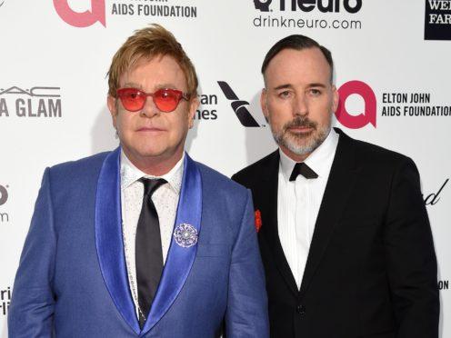 David Furnish has admitted working on Sir Elton John biopic Rocketman has left him suffering 'sleepless nights' (PA Wire)
