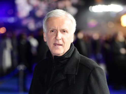 Acclaimed filmmaker James Cameron added to his extensive body of work by sharing his first selfie (Ian West/PA)