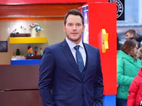 Chris Pratt has said he is going to work on the next movie by Elizabeth Banks (Ian West/PA)