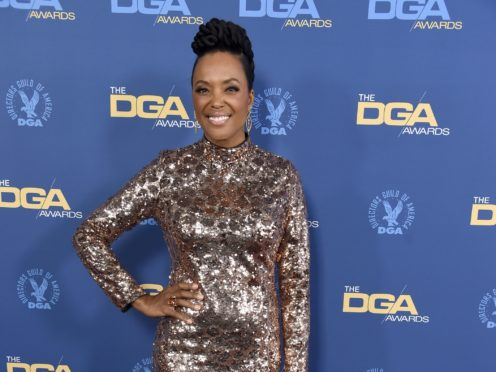 Host Aisha Tyler opened the Directors Guild Of America Awards (Chris Pizzello/Invision/AP)