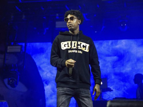 Grammy-nominated rapper 21 Savage is being wrongly held by US immigration officials, his lawyers have said (Amy Harris/Invision/AP, File)