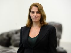 Tracey Emin at the White Cube in Bermondsey (Kirsty O'Connor/PA)
