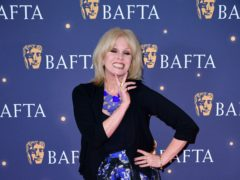 Joanna Lumley hosted the Baftas (Ian West/PA)