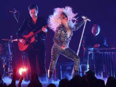 Lady Gaga performs Shallow at the Grammys (Matt Sayles/AP)