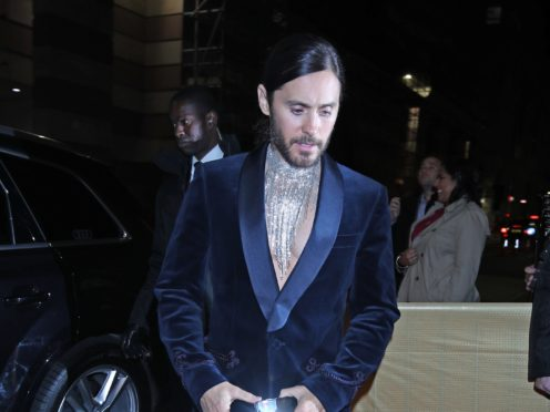 Jared Leto was among the celebrity guests at a Brit Awards after-party (Yui Mok/PA)