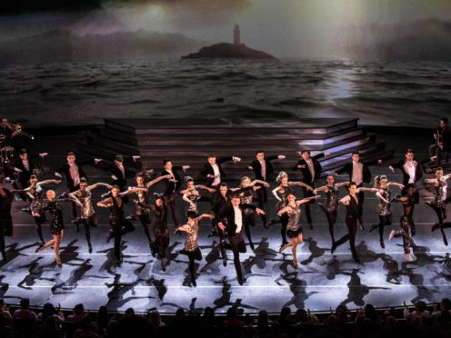 The cast of Heartbeat of Home, from the producers of Riverdance (Live Nation/PA)