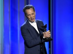 Richard E Grant and Roma were among the winners at the Film Independent Spirit Awards as Hollywood makes its final preparations ahead of the Oscars (Chris Pizzello/Invision/AP)