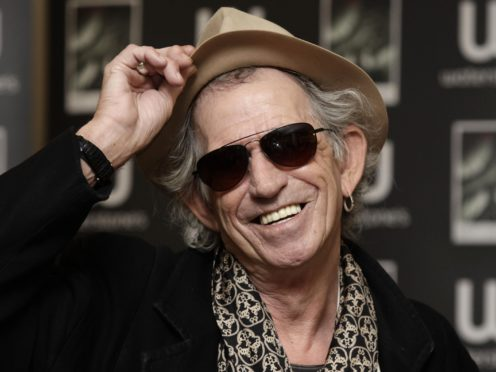 Keith Richards is cutting down on alcohol and cigarettes (Yui Mok/PA)