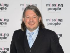 Richard Herring informs people of the date for International Men's Day (Dominic Lipinski/PA)