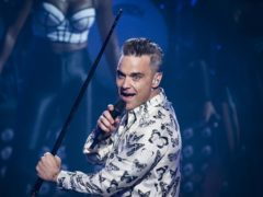 It is Robbie Williams's first time at the event (David Jensen/PA)