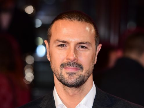 Paddy McGuinness said he enjoys it when people quote his catchphrases back at him (Ian West/PA)
