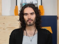 Russell Brand was named star baker on The Great Celebrity Bake Off (Jonathan Brady/PA)